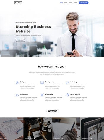 Web Design for an Agency